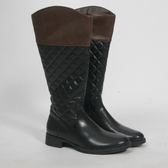 Kohls Quilted Vegan Bootssize 6